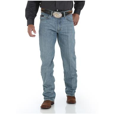 Wrangler Men's 20X 01 Competition Relaxed Jean, Laser Blue