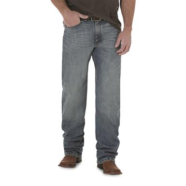 Wrangler 20X 01 Competition Relaxed Fit Jeans, Dusty
