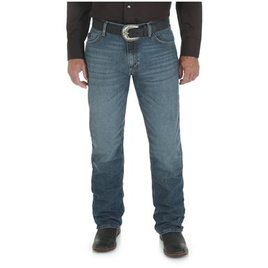 Wrangler Men's 20X 02 Competition Slim Jean, Cool Vantage, Storm Blue