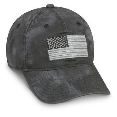 Outdoor Cap Flag Baseball Cap, Kryptek Camo, Kryptek Typhon