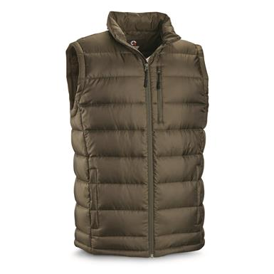 Guide Gear Men's Down Vest, Olive
