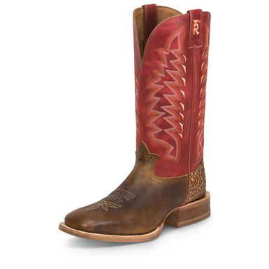 Tony Lama Men's Seymour Tan Cowboy Boots, Tan