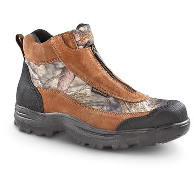Guide Gear Men's Silvercliff II Insulated Waterproof Boots, Mossy Oak Break-Up Country, Mossy Oak Break-Up® COUNTRY™