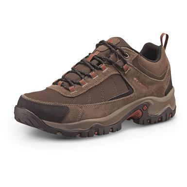 Columbia Men's Granite Ridge Waterproof Hiking Shoes, Cordovan