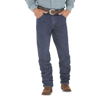 Wrangler George Strait Cowboy Cut Relaxed Fit Jeans, Denim
