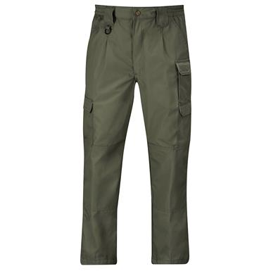 Propper Men's Canvas Tactical Pants, Olive Green