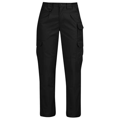 Propper Women's Canvas Tactical Pants, Black