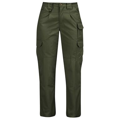 Propper Women's Canvas Tactical Pants, Olive Green