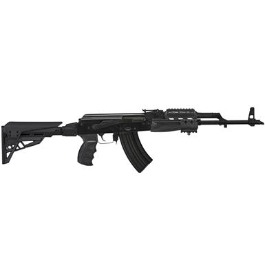 ATI TactLite Elite Adjustable AK-47 Stock with Non-Slip Recoil Pad, Black