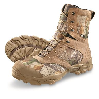 Guide Gear Men's Waterproof Timber Ops Hunting Boots, Realtree Xtra®
