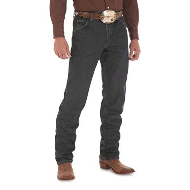Wrangler Premium Performance Advanced Comfort Cowboy Cut Regular Fit Jeans, Dark Tint