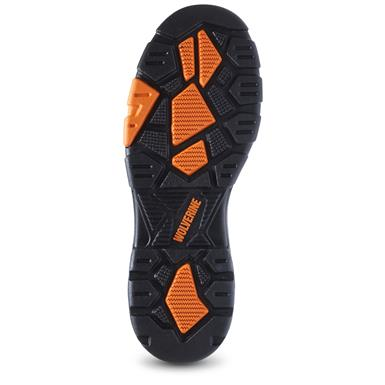 Abrasion, chemical, heat, oil, slip and water-resistant outsole