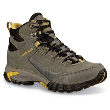 Vasque Men's Talus Trek Waterproof Hiking Boots, Magnet