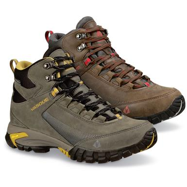 Vasque Men's Talus Trek Waterproof Hiking Boots, Magnet (8F0