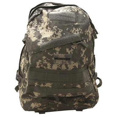 Humvee Day Pack Gear Bag, Digital Camo