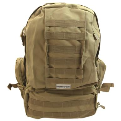 Humvee 3-Day Assault Backpack, Tan