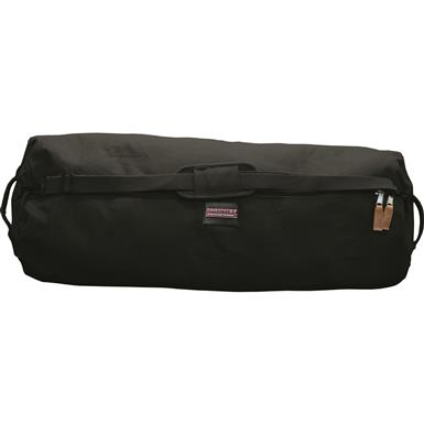Humvee Large Duffle Bag, Black