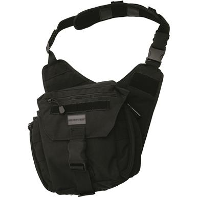 Humvee Shoulder Bag, Black