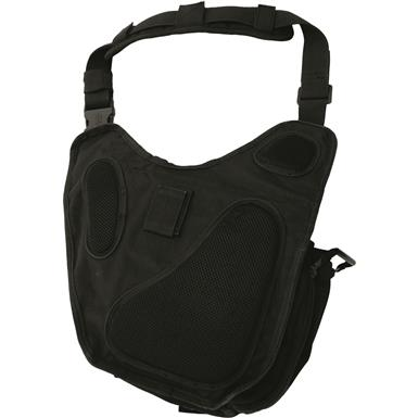 Comfortable padded shoulder strap, Black