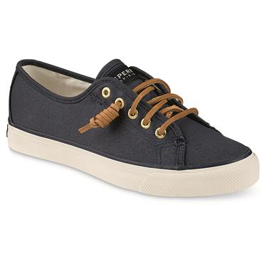Sperry Women's Seacoast Canvas Sneakers, Navy