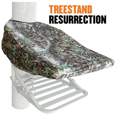 Cottonwood Outdoors Weathershield Tree Stand Cover, Standard Size Climber, Clear Cutt Camo