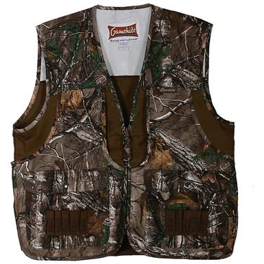 Gamehide Front Loader Hunting Vest, Realtree Xtra