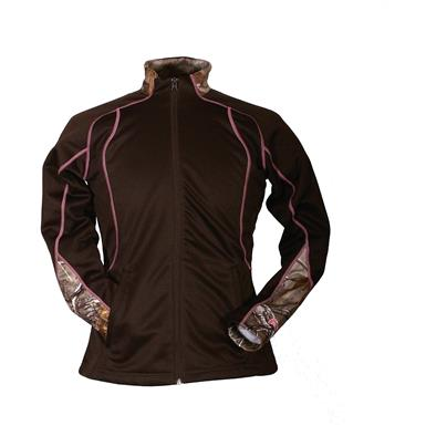 Gamehide Women's Cold Snap Fleece Jacket, Brown / Realtree Xtra