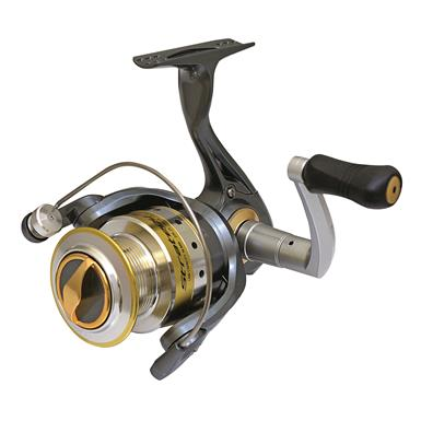 Strategy series Spinning Reel has 7+1 bearings for smooth action and reliable drag performance