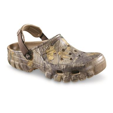 Crocs Men's Offroad Camo Sport Clogs, Realtree