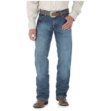 Wrangler Men's Cowboy Cut Silver Edition Denim Jeans, Vintage