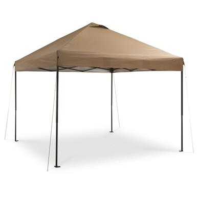Guide Gear Deluxe Straight Leg Pop Up Canopy 10u0027 x ...  sc 1 st  Sportsmanu0027s Guide : 10 x 10 pop up canopy - memphite.com