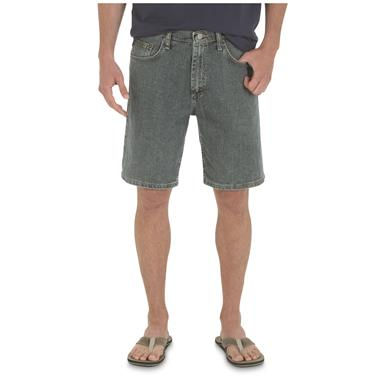 Wrangler Men's Advanced Comfort Relaxed Fit Shorts, Bleach Wash