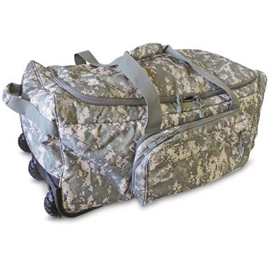 Code Alpha ACU Digital Camo Wheeled Deployment Bag