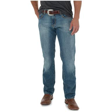 Wrangler Retro Slim Fit Straight Leg Jeans, Rocky Top
