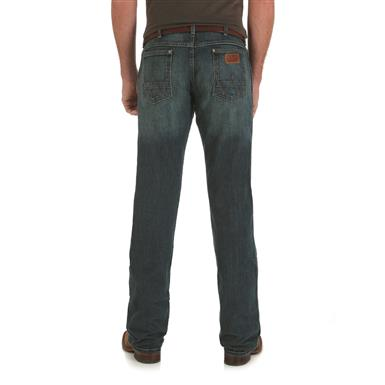 Wrangler Retro Slim Fit Straight Leg Jeans, Macon