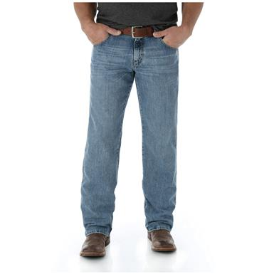 Wrangler Men's Retro Relaxed Fit Straight Leg Jeans, Boulder