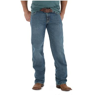 Wrangler Men's Retro Relaxed Fit Straight Leg Jeans, Creek Wash