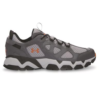 Under Armour Men's Mirage 3.0 Trail Running Shoes, Black/Rhino Gray/Red