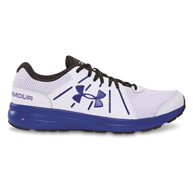 Under Armour Men's Dash RN 2 Running Shoes, White/Ultra Blue/Ultra Blue