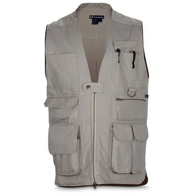 5.11 Men's Tactical Vest, Khaki