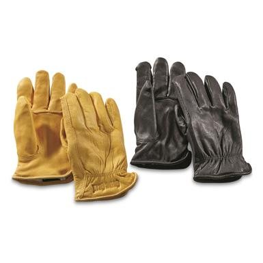 Guide Gear Men's Insulated Leather Gloves