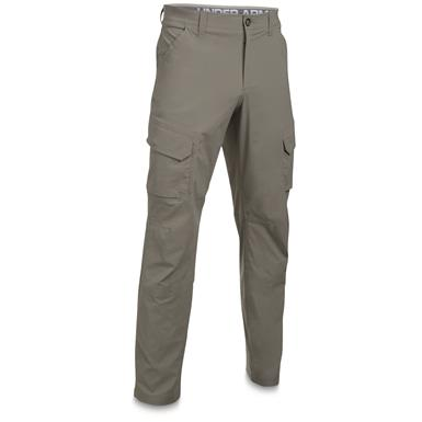 Under Armour Men's Fish Hunter Cargo Pants, Tan Stone