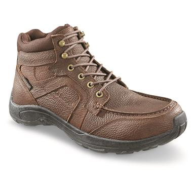 Guide Gear Men's Premium Waterproof Chukka Shoes, Canyon Brown