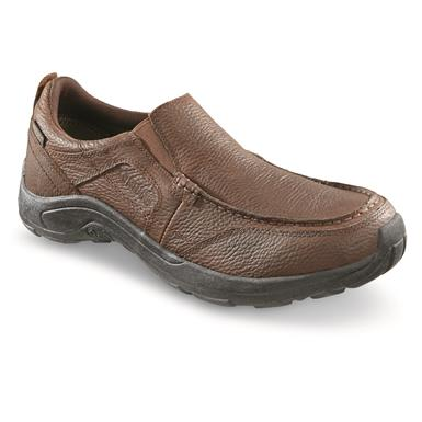 Guide Gear Men's Premium Waterproof Slip On Shoes, Canyon Brown