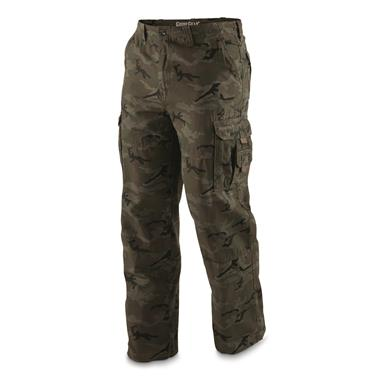 Guide Gear Men's Outdoor Cargo Pants, Woodland Camo, Woodland Camo