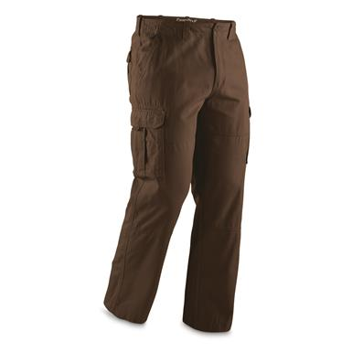 Guide Gear Men's Outdoor Cargo Pants, Brown, Brown