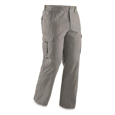 Guide Gear Men's Outdoor Cargo Pants, Gray, Gray