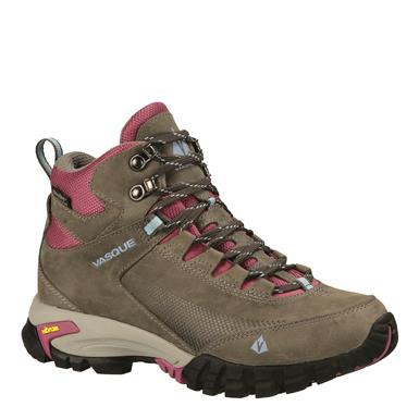Vasque Women's Talus Trek UltraDry Waterproof Hiking Boots, Gargoyle