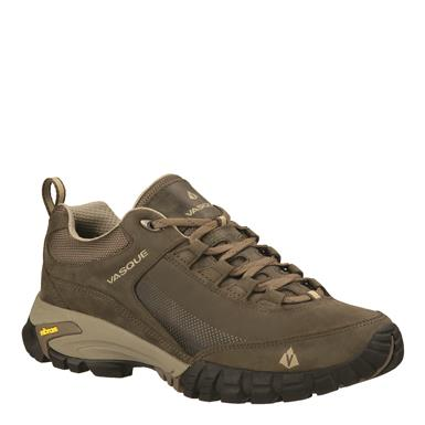 Vasque Men's Talus Trek Low UltraDry Hiking Shoes, Waterproof, Vibram, Aluminum/Black