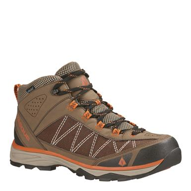 Vasque Men's Monolith UltraDry Waterproof Hiking Boots, Chocolate Chip